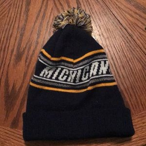 University of Michigan knit hat